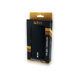 PowerBank 2Hix PB-885 10000Mah 3*Usb Preto C/Led