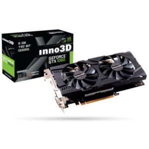 Placa Gráfica Inno3D Geforce GTX1060 TwinX2 6Gb