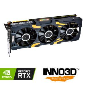 Placa Gráfica Inno3D Geforce RTX 2080 Ti GOC X3 11Gb
