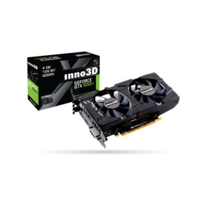 Placa Gráfica Inno3D Geforce GTX1050Ti Twin X2 4Gb