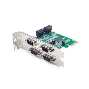 PLACA PCI-EXPRESS ADICIONAR 4 PORTAS SERIE