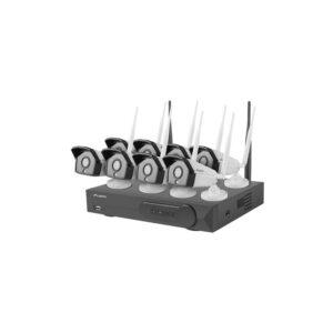 Sistema Video Vigilancia 8 Camaras Wifi + Gravador